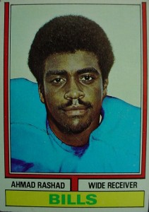 Ahmad Rashad - Buffalo Bills - Minnesota Vikings