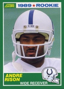 Andre Rison - Indianapolis Colts - Atlanta Falcons - Wide Receiver