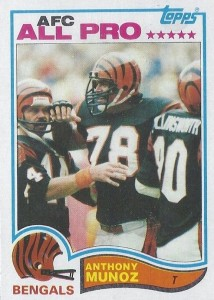 Anthony Munoz - Cincinnati Bengals - Offensive Tackle