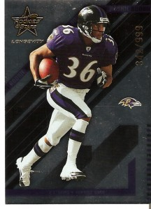 B.J. Sams - Baltimore Ravens - Kick Returner