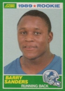 Barry Sanders - Detroit Lions - Running Back - Hall of Fame - HOF