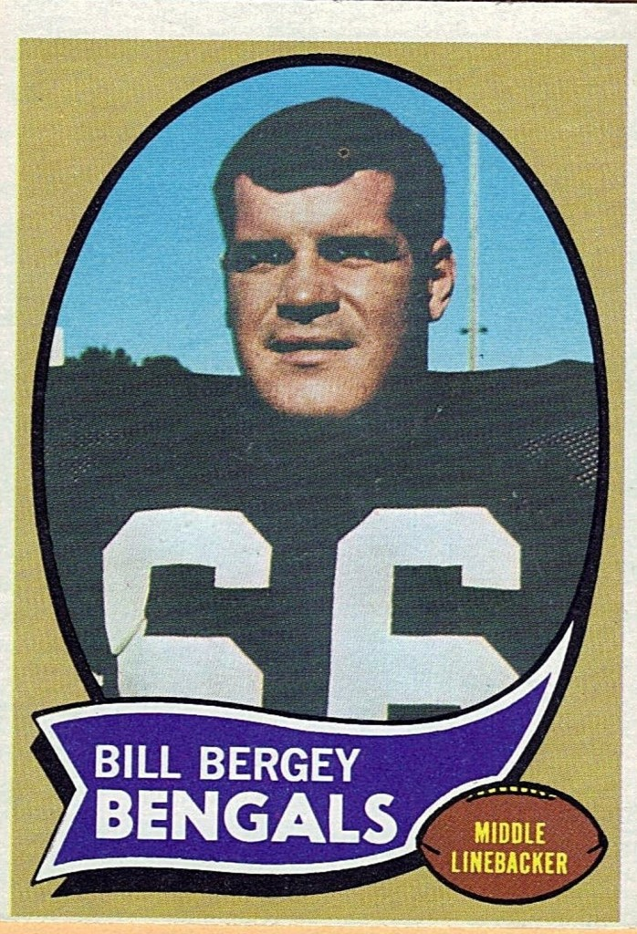 Bill Bergey - Cincinnati Bengals - Philadelphia Eagles