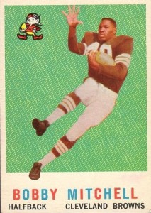 Bobby Mitchell - Cleveland Browns - Punt Returner - Hall of Fame - HOF