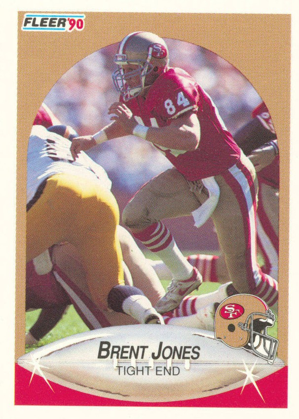 Brent Jones - San Francisco 49ers