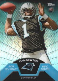 Cam Newton - Carolina Panthers - Quarterback - 1st Pick in 2011 Draft