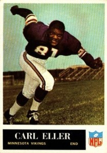 Carl Eller - Minnesota Vikings - Hall of Fame - HOF