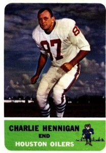 Charlie Hennigan - Houston Oilers