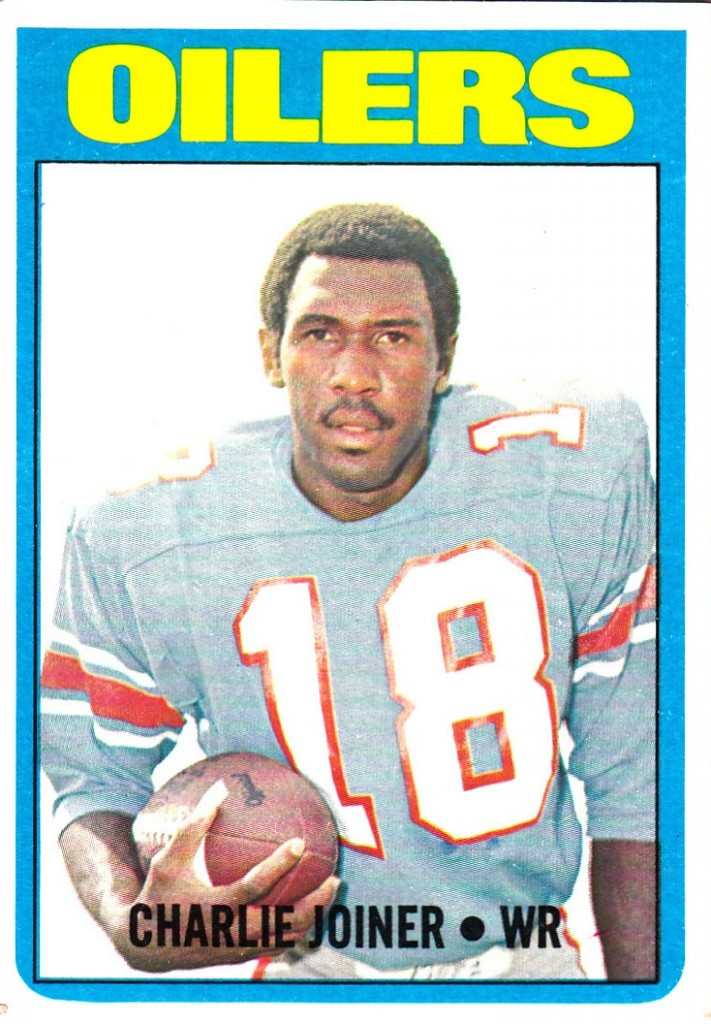 Charlie Joiner - Houston Oilers - San Diego Chargers