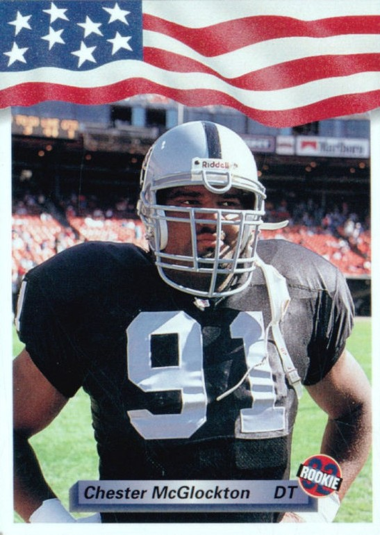 Chester McGlockton - Oakland Raiders