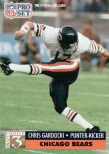 Chris Gardocki - Chicago Bears - Cleveland Browns - Kicker - Punter