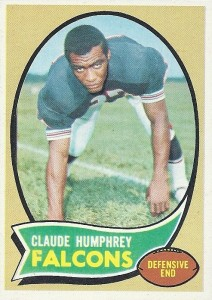 Claude Humphrey - Atlanta Falcons - Defensive End