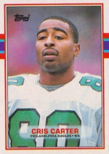 Cris Carter - Philadelphia Eagles - Minnesota Vikings