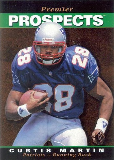Curtis Martin - New England Patriots - New York Jets