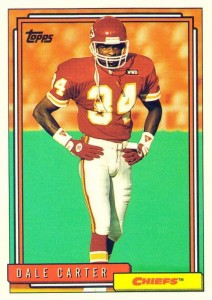 Dale Carter - Kansas City Chiefs