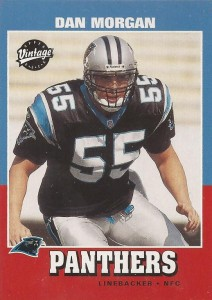 Dan Morgan - Carolina Panthers - Linebacker
