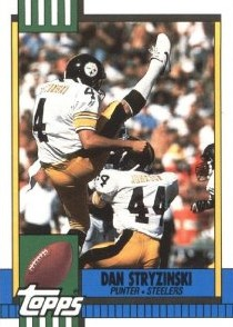 San Stryzinski - Pittsburgh Steelers - Atlanta Falcons - Punter