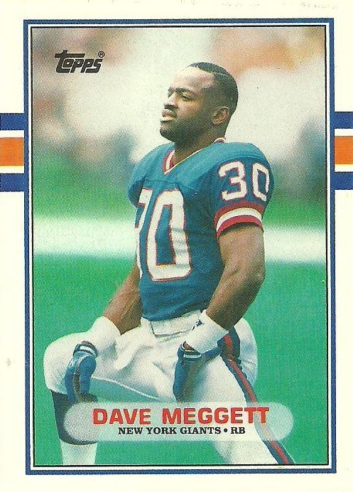 Dave Meggett - New York Giants