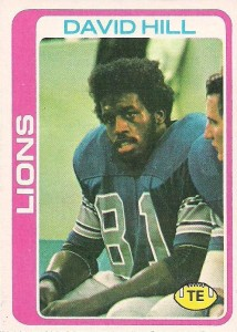 David Hill - Detroit Lions - St. Louis Rams