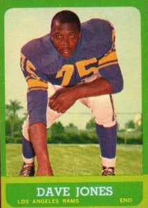 Dave Jones - Deacon Jones - Los Angeles Rams - Hall of Fame - HOF