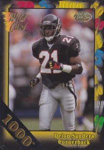Deion Sanders - Atlanta Falcons - Dallas Cowboys - Baltimore Ravens - Cornerback
