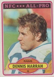 Dennis Harrah - Los Angeles Rams