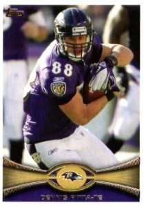 Dennis Pitta - Baltimore Ravens - Tight End - Super Bowl XLVII - AFC Champions