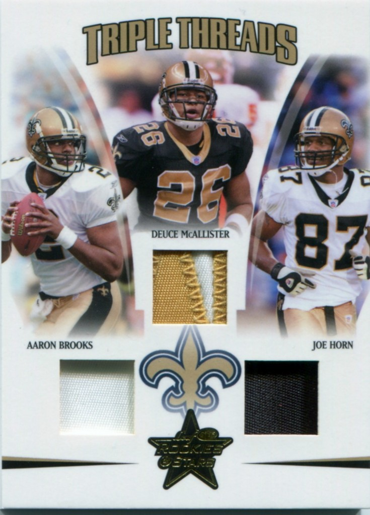 Deuce McAllister - New Orleans Saints - Aaron Brooks - Joe Horn