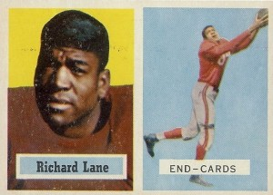 "Richard Lane - Dick Lane - Night Train Lane - Dick ""Night Train"" Lane - Los Angeles Rams"