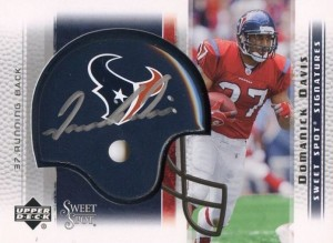 Domanick Davis - Domanick Williams - Houston Texans - Running Back