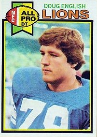Doug English - Detroit Lions - Defensive Tackle