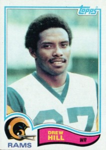 Drew Hill - Los Angeles Rams - Houston Oilers