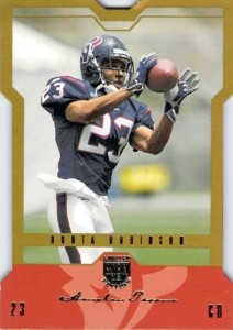 Dunta Robinson - Houston Texans - Cornerback