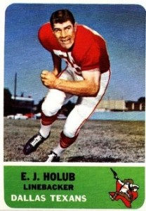 E.J. Holub - Dallas Texans - Kansas City Chiefs