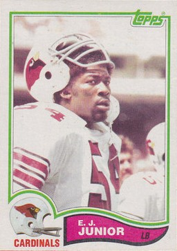 E.J. Junior - Chicago Cardinals - Arizona Cardinals - St. Louis Cardinals - Phoenix Cardinals