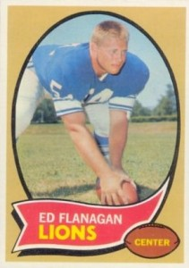 Ed Flanagan - Detroit Lions - Center