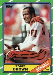 Eddie Brown - Cincinnati Bengals - Wide Receiver