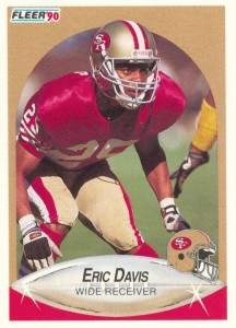 Eric Davis - San Francisco 49ers - Carolina Panthers