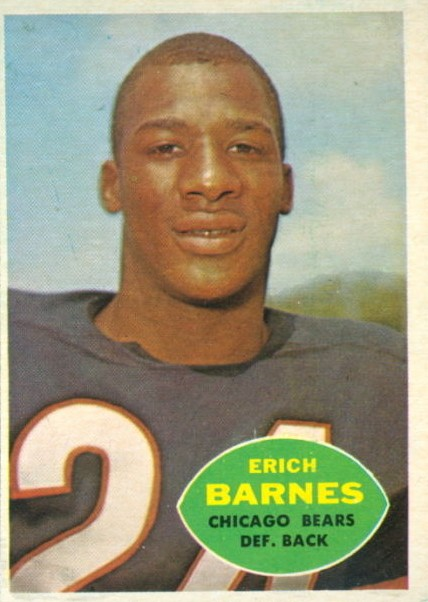 Erich Barnes - Chicago Bears - New York Giants