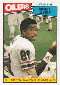 Ernest Givens - Houston Oilers