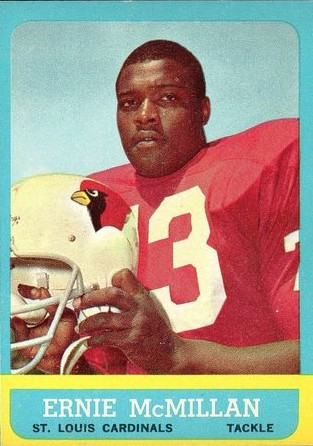 Ernie McMillan - Chicago Cardinals - Arizona Cardinals - St. Louis Cardinals - Phoenix Cardinals