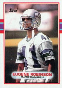 Eugene Robinson - Seattle Seahawks - Atlanta Falcons - Safety