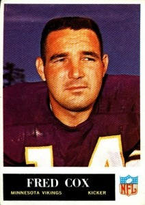 Fred Cox - Minnesota Vikings