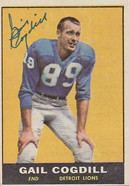 Gail Cogdil - Detroit Lions - Wide Receiver
