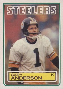 Gary Anderson - Pittsburgh Steelers