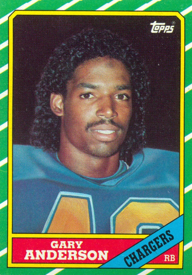 Gary Anderson - San Diego Chargers