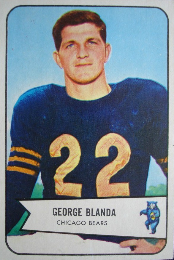 George Blanda - Chicago Bears - Oakland Raiders