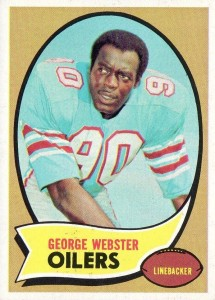 George Webster - Houston Oilers