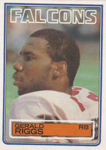 Gerald Riggs - Atlanta Falcons - Running Back