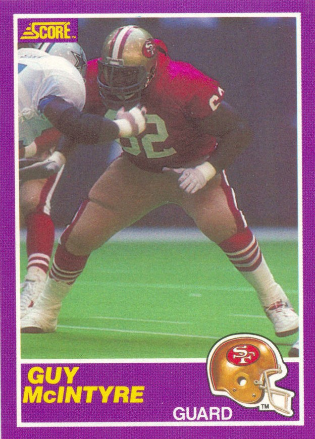 Guy McIntyre - San Francisco 49ers