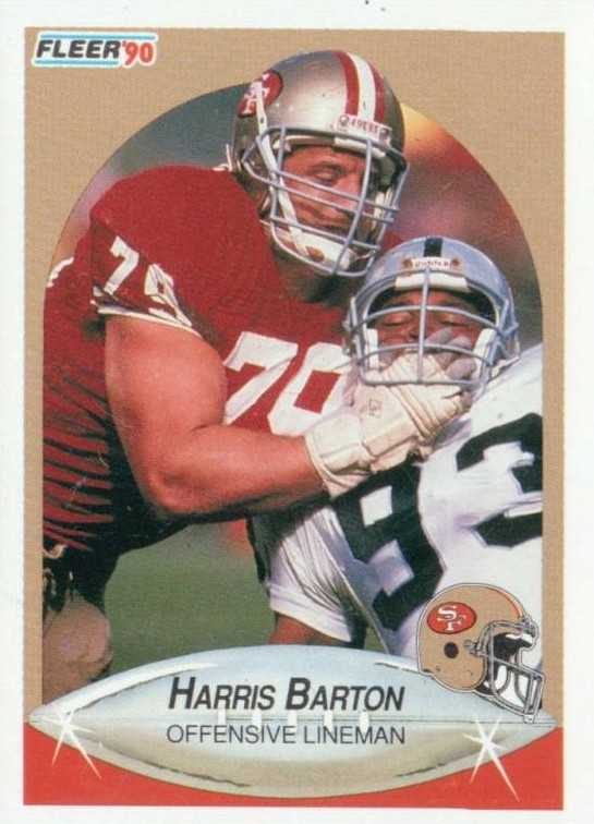 Harris Barton - San Francisco 49ers